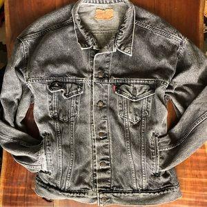 Vintage Black Stonewash Levi's Jean Jacket